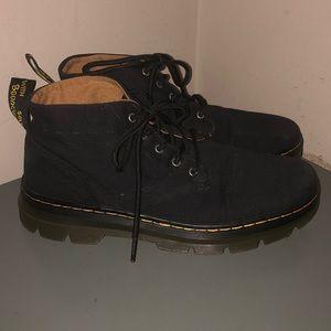 Dr Martens Bonny black cotton ankle boots us sz 11